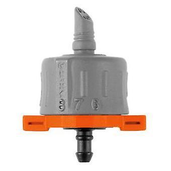 Gardena Fin réglable régulateur de gouttes réglable presiónCaudal de 1-8 l / h avec une échelle de classemen