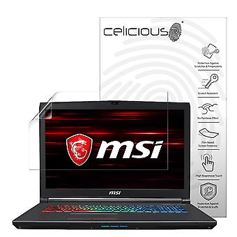 Celicious Vivid Plus Mild Anti-Glare Screen Protector Film Compatible with MSI GF72 8RE [Pack of 2]