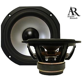 1 pair Acoustic Research ARW150K AL1080D high-end low midrange driver, 160 watts, SERVICE merchandise