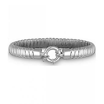 Quinn - Silver bracelet with engraving plate - 0281881