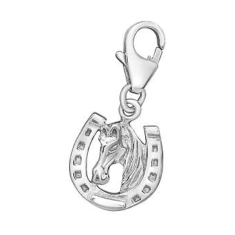 Horseshoe - 925 Sterling Silver Charms with Lobster - W15806X