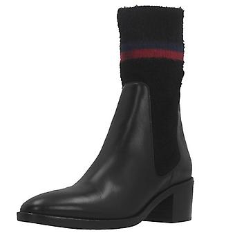 Tommy Hilfiger Booties Fw0fw04347 Colore Nero