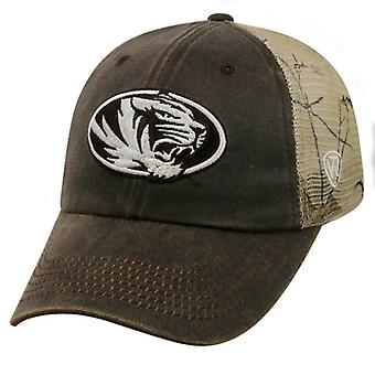 Missouri Tigers NCAA TOW Liberty Real Tree Camo Snapback Hut