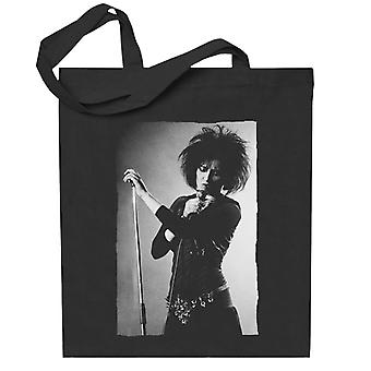 Souxsie Sioux Live Black And White Totebag