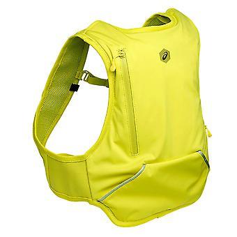 Asics Running Exercise Fitness Backpack Rucksack Bag Carbon Yellow