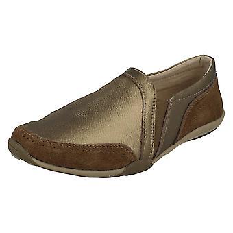 Ladies jordnära casual loafers F80510