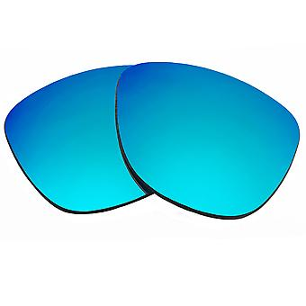 Replacement Lenses for Oakley Frogskins Sunglasses Blue Mirror Anti-Scratch Anti-Glare UV400 by SeekOptics