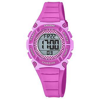 Uhr Calypso K5756-4 - DIGITAL CRUSH Armband R Sinus Rose Boitier R Sinus Rose Femme