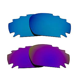 Polarized Replacement Lenses for Oakley Racing Jacket Sunglasses Anti-Scratch Vented UV400 SeekOptics
