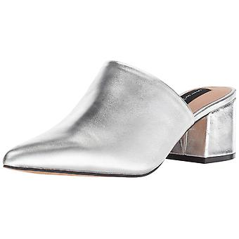Steven by Steve Madden Womens Simone Leather Pointed Toe Mules