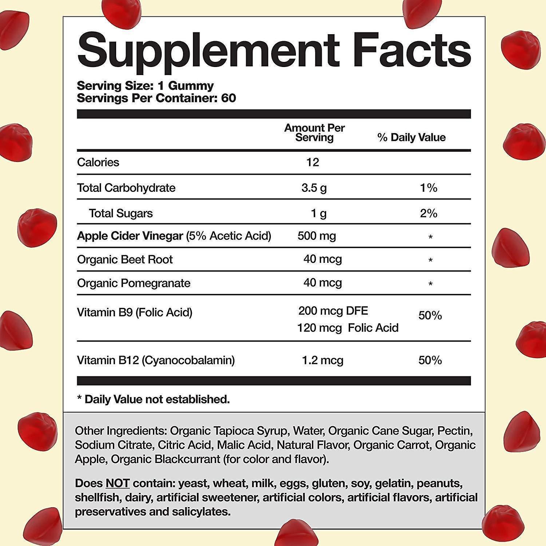 Goli Nutrition Apfelessig Gummies - 60 Gummies
