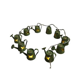 Gisela Graham Watering Can Fairy Lights