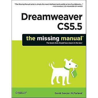 Manuel manquant de Dreamweaver CS5.5 par David Mcfarland