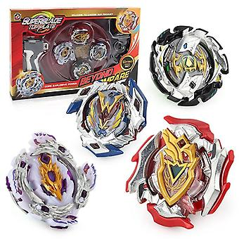 SuperBlade Top Plate Battle Set 4-pack-rouge