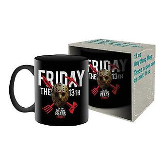Friday the 13th ceramic mug