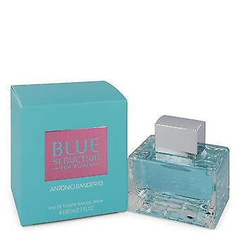 Blue Seduction by Antonio Banderas Eau De Toilette Spray 2.7 oz / 80 ml (Women)