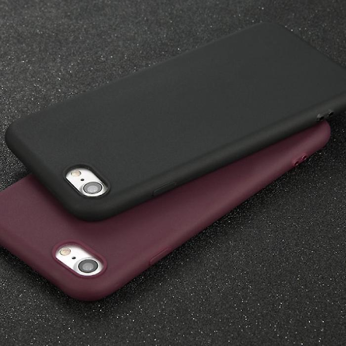 USLION Ultraslim iPhone 6 Plus Silicone Case TPU Case Cover Blue