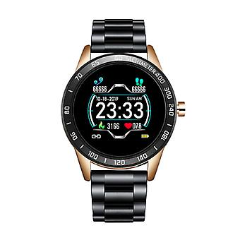 Lige Sports Smartwatch Fitness Sport Activity Tracker Smartphone Watch iOS Android iPhone Samsung Huawei Gold Black