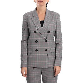 Pinko 1g14u17880in1 Women's Grey Nylon Blazer
