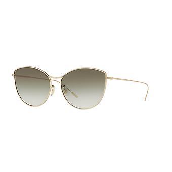 Oliver Peoples Rayette OV1232S 5035/8E pehmeä kulta /oliivi kaltevuus aurinkolasit