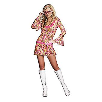 Go Go Gorgeous Adult Costume - X-Large, Pink, Size No Size