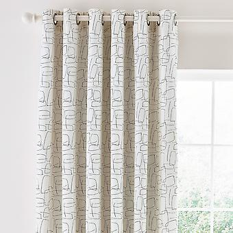 Composition Curtains By Scion In Putty