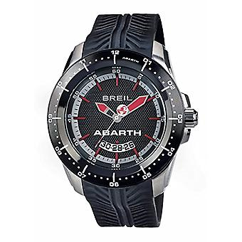 Breil Mens Quartz analog clock with Silicone strap TW1486