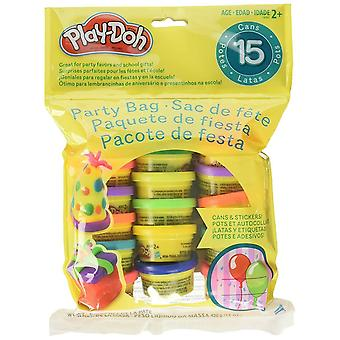 Play-Doh Party Bag obsahuje 15x 28g Fun Size Tubs Toy Dough Kids Gift Party Bag