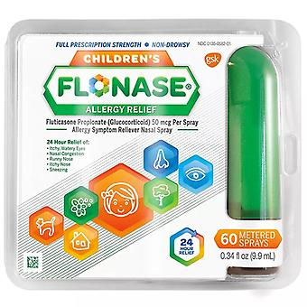 Kinder Flonase Allergie Relief Spray, dosiert 60 Sprays, 1 ea