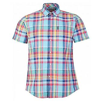 Barbour Madras 8 Short Sleeved Check Shirt