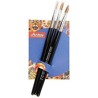 Make up and eyelashes  Set brushes 3 pieces