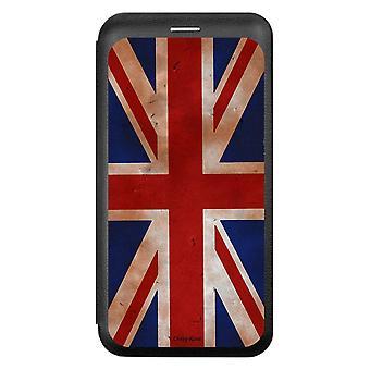حالة لiPhone Xr نمط العلم المملكة المتحدة خمر