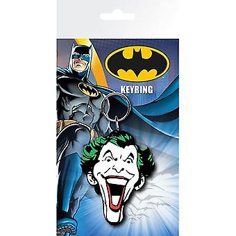 Batman Comic Joker tvář gumová klíčenka