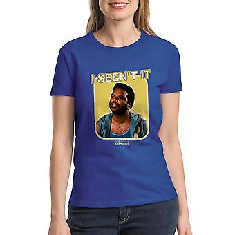 Pineapple Express I Seen't It Quote Women's Royal Blue T-shirt
