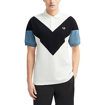 Fred Perry Men's Chevron Polo T-Shirt Relaxed Fit