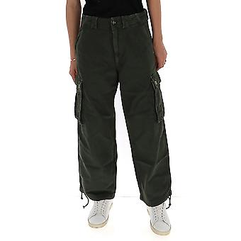 Semi-couture S0sy26s06 Women's Green Cotton Jeans