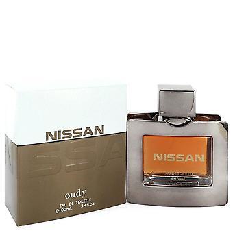 Nissan oudy eau de toilette spray by nissan 549943 100 ml