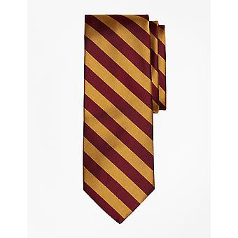Brooks Brothers Men's Seda -Burgundy Tie