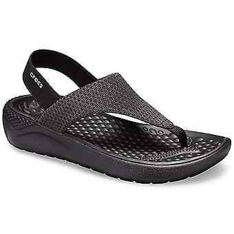 Crocs Womens LiteRide Mesh Fabric Open Toe Casual Slingback Sandals