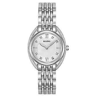 Bulova 96R212 Montre femme Classic Diamond 30 mm