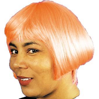 Eve peruukki Neon oranssi naisille