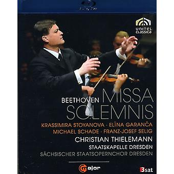 L.V. Beethoven - Missa Solemnis [BLU-RAY] USA import