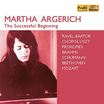Beethoven / Argerich / Ricci - Succesful Beginning [CD] USA import