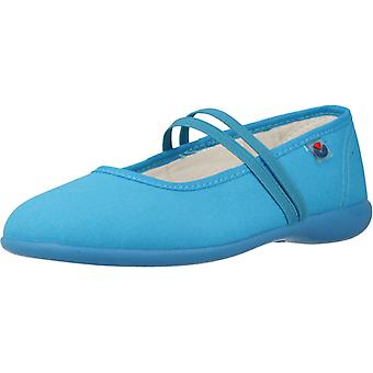 Victoria Shoes 105810 Turquoise Color