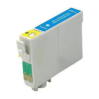 RudyTwos Replacement for Epson Parasol Ink Cartridge Cyan Compatible with CX3600, CX3650, CX4600, CX6400, CX6600