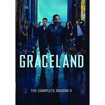 Graceland: Complete Season 3 [DVD] USA import