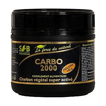 Super activated vegetable charcoal powder 100 g of powder