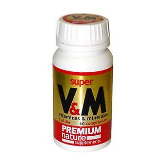 Super Vm (Vitamins and Minerals) 60 tablets