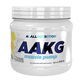 Bomba muscular AAKG, Limón 300 g