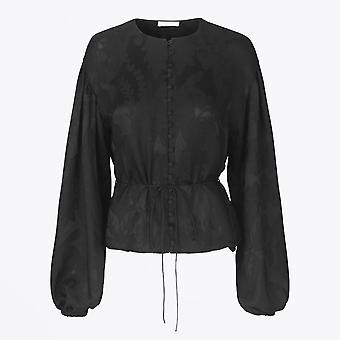 Stine Goya - Sahara Lace Top - Noir
